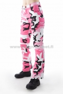 Ladies Strectch Housu Pink Camo