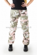 Ladies Housut Subdued Pink Camo,kivipesty