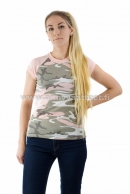 Ladies T-Paita Red Camo