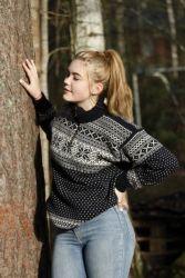 Klassinen Norjalainen villapaita,iso koko