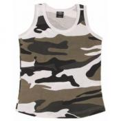 US Tank Top, ladies, woodland