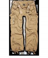 Royal Vintage housut, kivipesty, Kojootinruskea