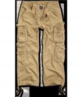Pure Vintage housut, kivipesty, Kojootin ruskea