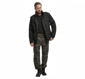 Pure Vintage housut, kivipesty, Dark Camo