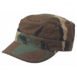 US BDU field cap, woodland