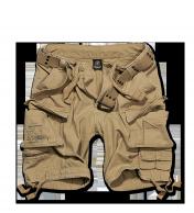 Savage Vintage Shortsit,kivipesty Kojootinruskea