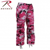 Womens Paratrooper Colored Pink Camo