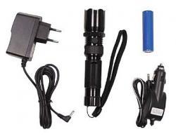 Led lamppu,3W,verkkolaturilla/autolaturilla