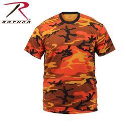 Colorcamo T-Paita,Savage Oranssi