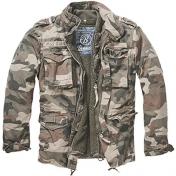 Brandit Giant-Jacket m-65 mallin  kenttätakki ,irtovuorellea, Light Woodland