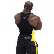 Gwear RibTank Top,musta/keltainen