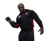 Track Jacket,musta/punainen