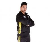 Track Jacket,musta/keltainen
