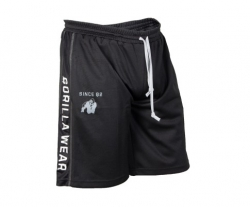 Functional Mesh Shorts,musta valkoinen