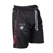 Functional Mesh Shorts,musta punainen