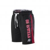 82 Sweat Shorts,musta punainen