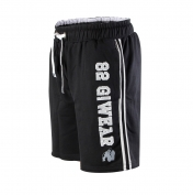 82 Sweat Shorts,musta harmaa