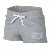 Women`s New Jersey Sweat Shorts ,harmaa
