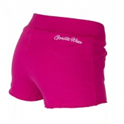 Women`s New Jersey Sweat Shorts ,pinkki