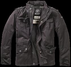 Brandit Britannia Jacket  Talvivuorilla , kivipesty, Musta
