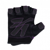 Womens Fitness Gloves Black/Burble