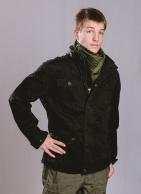 Brandit Britannia Jacket, kivipesty, Musta