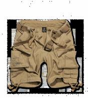 Savage Vintage Shortsit,Kivipesty Kojootin ruskea