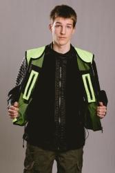 Biker Huomioliivi,Neon Keltainen