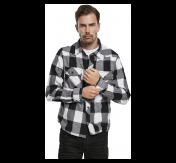 Chek Shirt Fanellipaita,mustavalkoinen