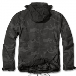 Brandit Giant-Jacket, m-65 mallin kenttätakki, irtovuorella, Dark Camo