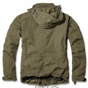 Brandit Giant-Jacket, m-65 mallin kenttätakki, irtovuorella, kivipesty oliivinvihreä