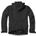 Brandit Giant-Jacket, m-65 mallin kenttätakki, irtovuorella, musta
