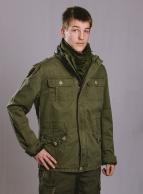 Brandit Britannia Jacket, kivipesty, Oliivinvihreä