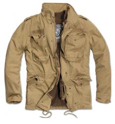 Brandit Giant-Jacket, m-65 mallin kenttätakki, irtovuorella, Beige