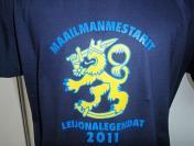 Leijonalegendat 2011 T-paita,Sininen