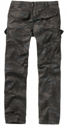 Adven Slim Fit Reisitaskuhousut,Darg Camo