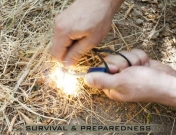 Tulentekolaite Gerber  Fire Striker Survival Bear Grylls Survivalt