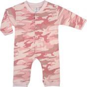 Lasten pitkälahkeinen Body,Pink Camo